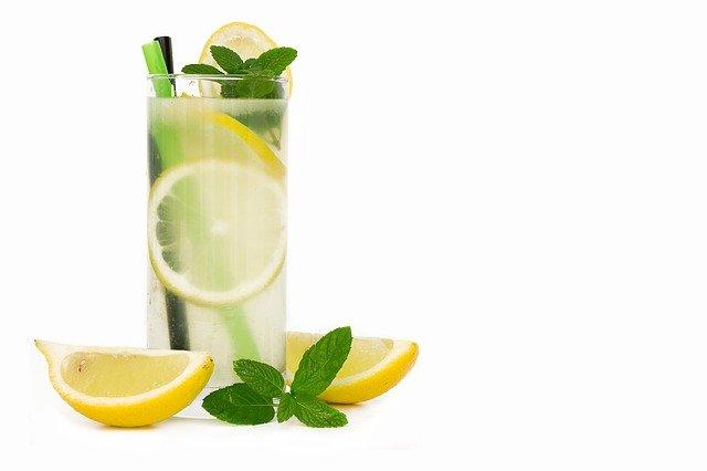 Limonaden Sorbet mit Pfefferminze Adams frische Kräuter